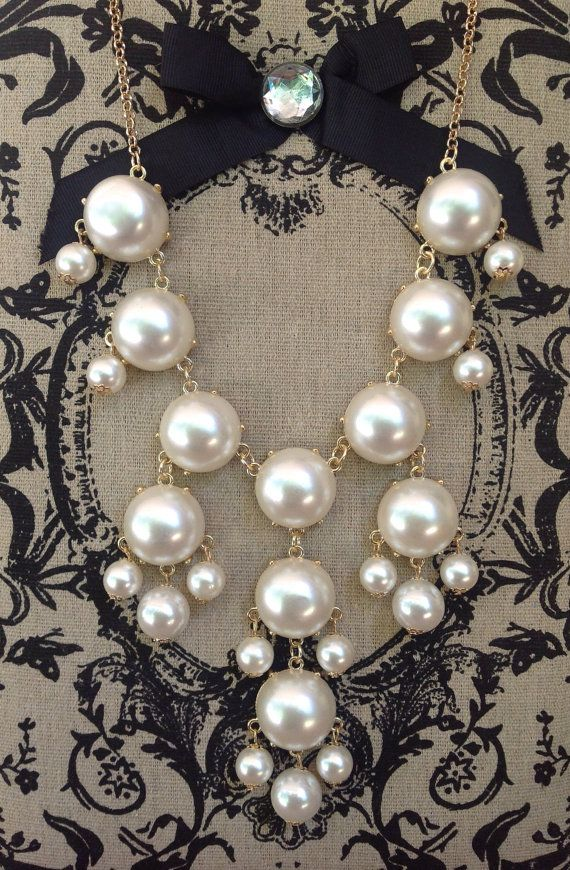 Perfect Pearls Bubble Necklace
