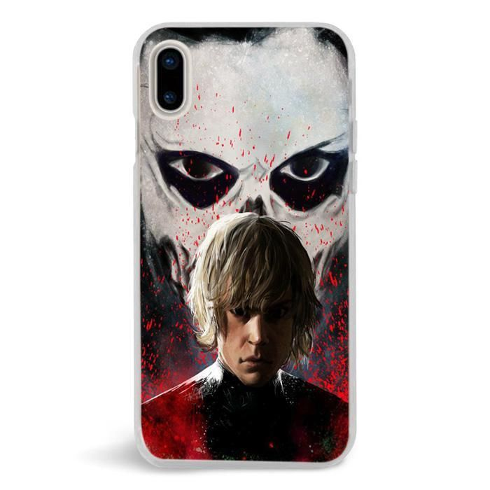 American Horror Story Even Peters,iPhone X Case,Custom iPhone X Case,iPhone X