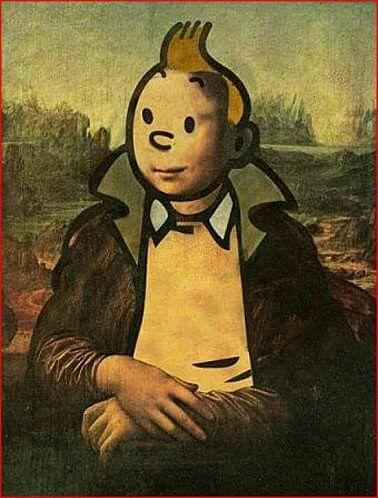 Le Tintin de Leonardo da Vinci
