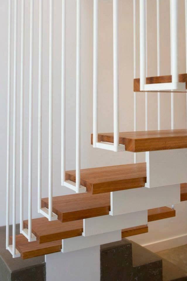 Mejores 72 imágenes de ARQ Escaleras en Pinterest Escaleras - diseo de escaleras interiores