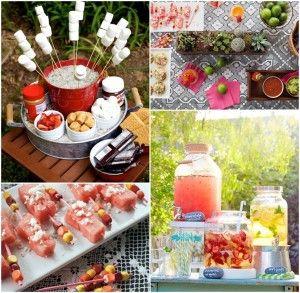 Backyard BBQ Party Food Ideas