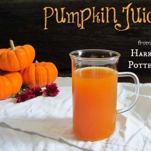 Pumpkin Juice – Harry Potter | Food Through the Pages