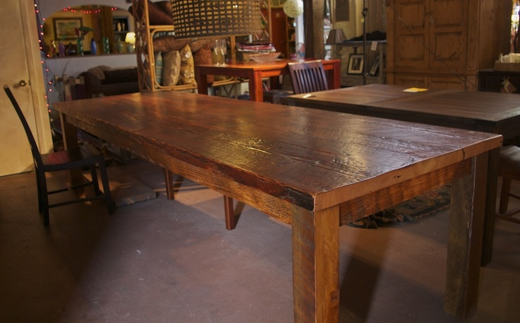 17 Best Images About Reclaimed Wood Table On Pinterest