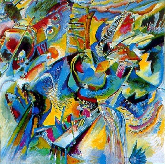 Improvisation 9 ( Vassily Kandinski )