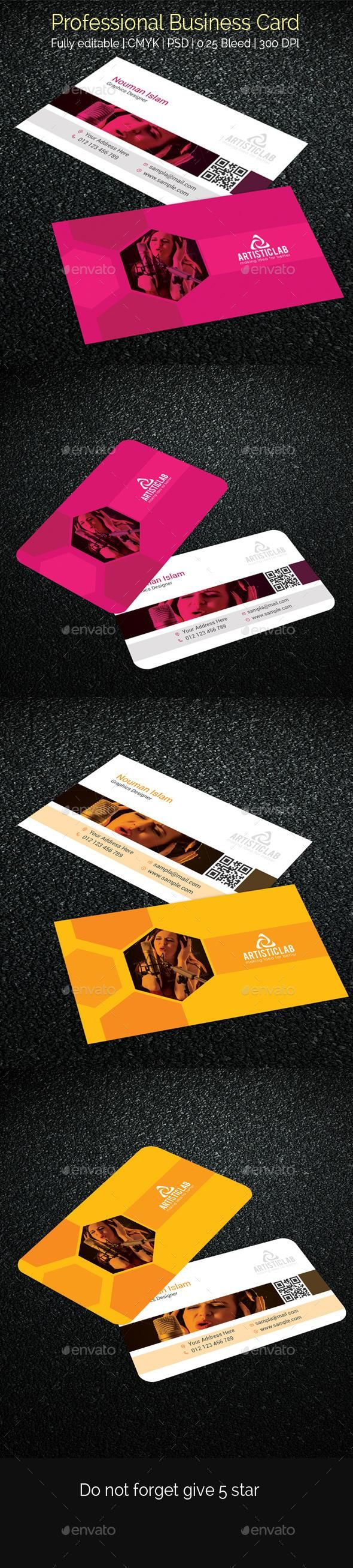 Best Professional Business Cards Ideas On Pinterest Gold - Professional business card template