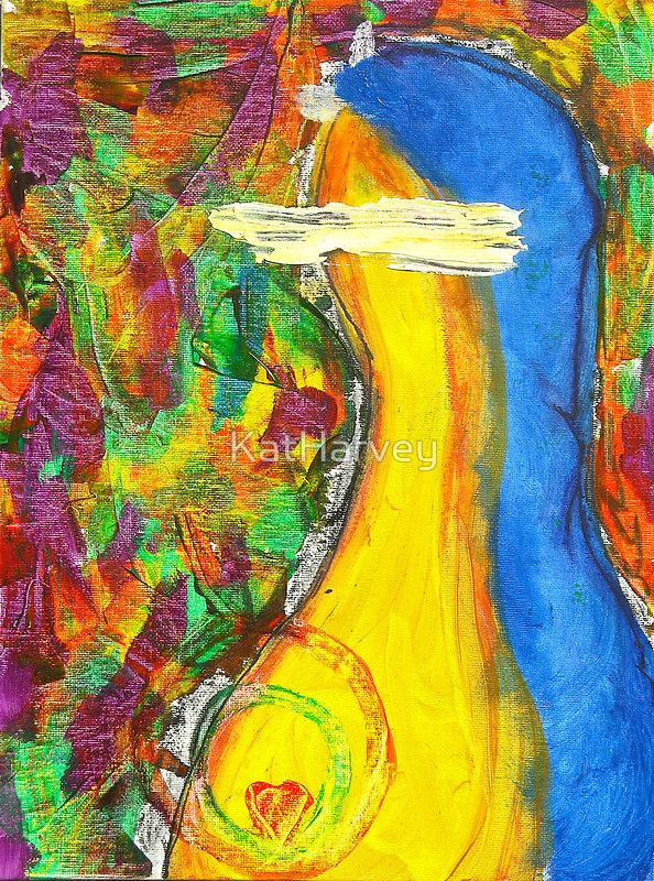 Mother Mary By Venus Abstract    www.venusabstract.com