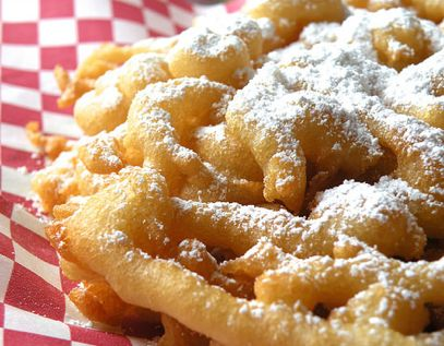 #FunnelCakeRecipe ~ FUNNEL CAKE RECIPE ~ WHO DOESN'T LOVE FUNNEL CAKES? We found a Great Funnel Cake Recipe (from Mrs. Fields) that is sooo tasty. This is such a Fun, Yummy  (and Unexpected) treat to make for your family and friends!  Funnel Cake Recipe ~ http://www.momsjustwanttohavefun.com/funnel-cake-recipe-2/