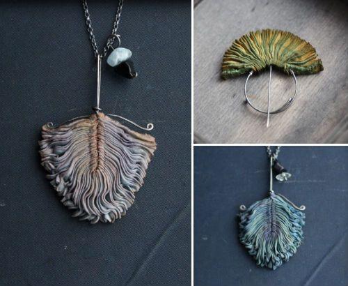 smocked silk jewelry