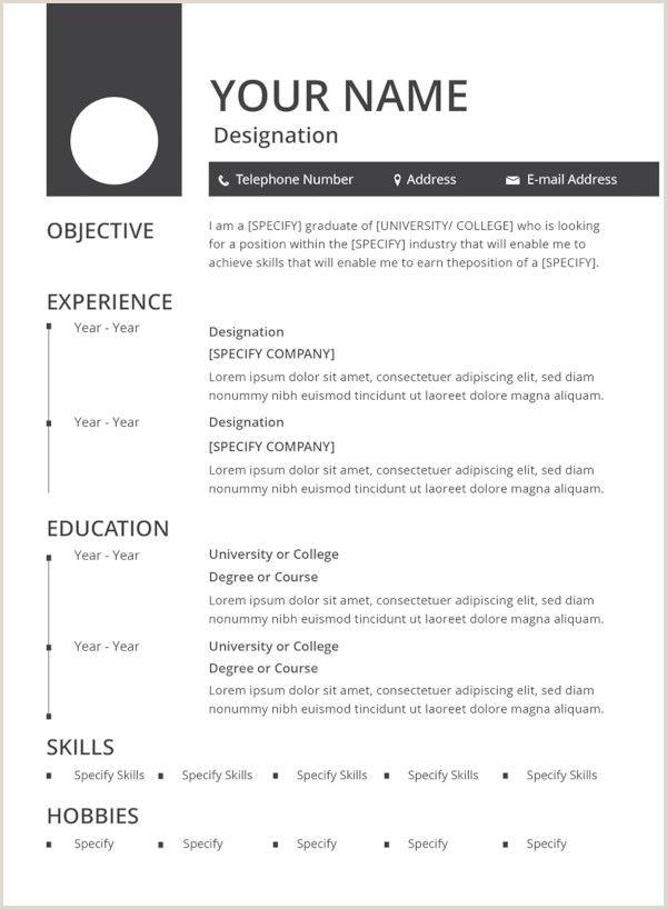 47 Best Resume Formats Pdf Doc In 2020 Free Resume Template Download Job Resume Format Downloadable Resume Template