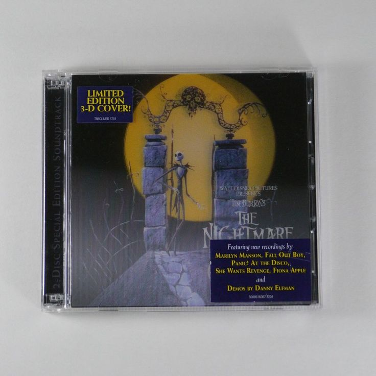 The Nightmare before Christmas OST [Limited Edition, 3DCover, 2Disc]Danny Elfman