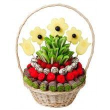 Çiçek Açan Meyve Buketi