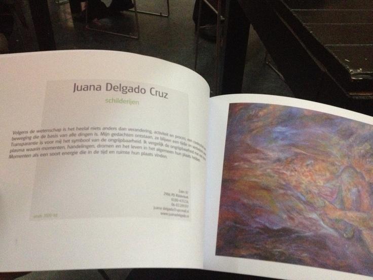 Opgenomen in boek tgv 20 jarig jubileum van de Kunstroute Ridderkerk op 18/4/13.