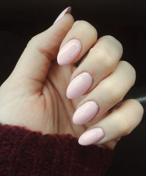 Adorable Stiletto Light Pink Nail Art Designs For Prom Decent