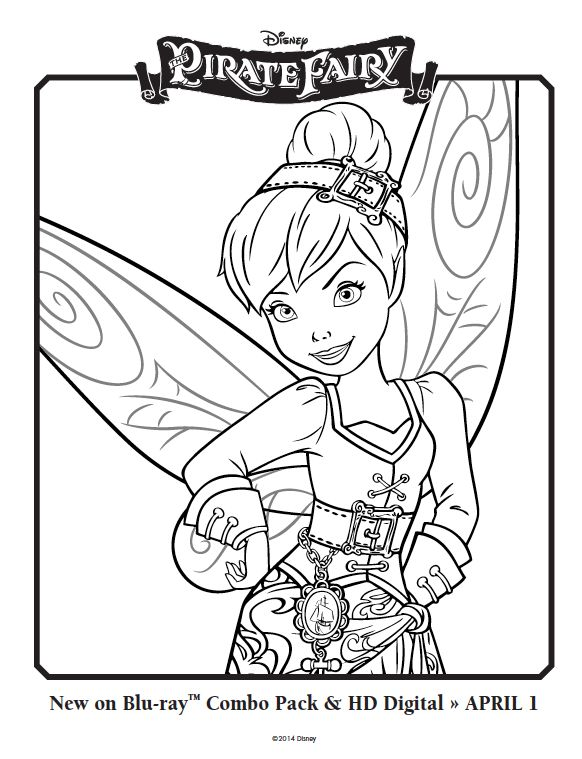 Giant Coloring Pages Disney Fairies : Crayola giant coloring pages disney fairies