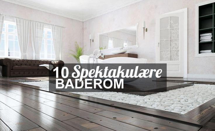 Baderom Inspirasjon & Ideer – Interiør & Dekorasjon