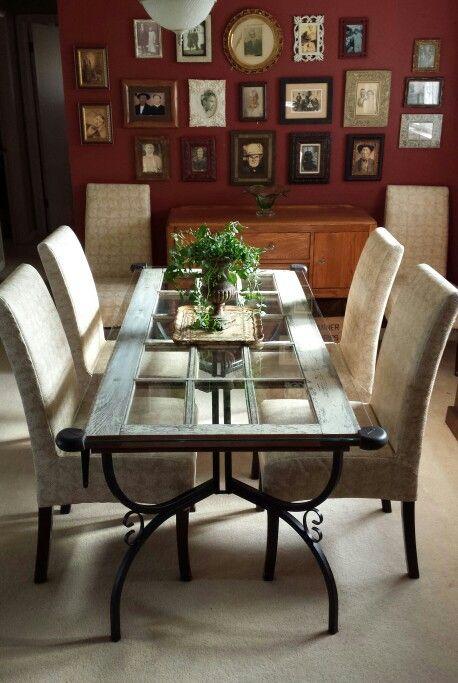 25 best antique dining tables ideas on pinterest. Black Bedroom Furniture Sets. Home Design Ideas
