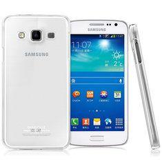 [US$3.49] IMAK Brand Transparent Crystal PC Case For Samsung Galaxy A7  #brand #case #crystal #galaxy #imak #samsung #transparent
