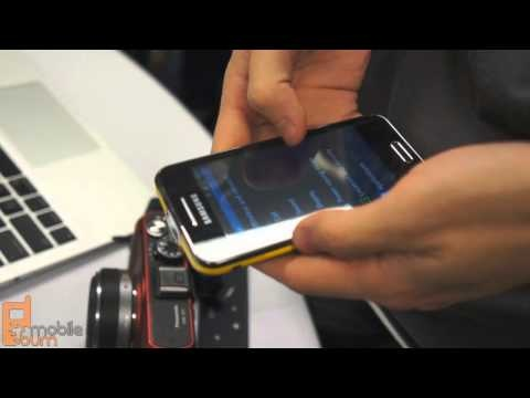 Samsung Galaxy Beam projector smartphone #MWC2012