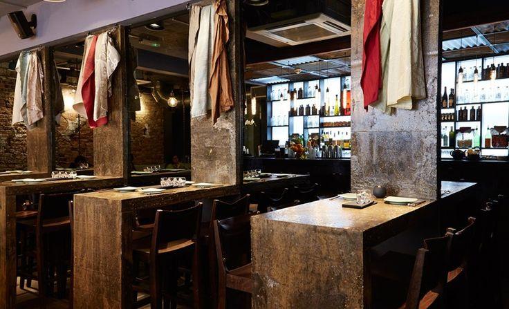 The best restaurants in Soho, Tatler. Jinjuu - kimchi bloody Mary a good hangover cure. Korean food. Kingly Court