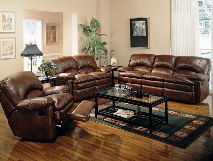 Leather Living Room Sets And Glass Table Part 59