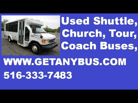 Used Buses For Sale 2007 Ford E350 ElDorado Wheelchair Shuttle Bus | For more information call CHARLIE at 516-333-7483 OR visit us at http://www.getanybus.com
