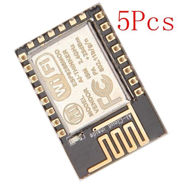 5Pcs ESP8266 ESP-12E Remote Serial Port WIFI Transceiver Wireless Module