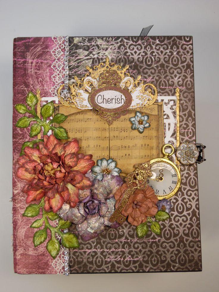 Heartfelt creations romantique garden paper collection for Handmade paper creations