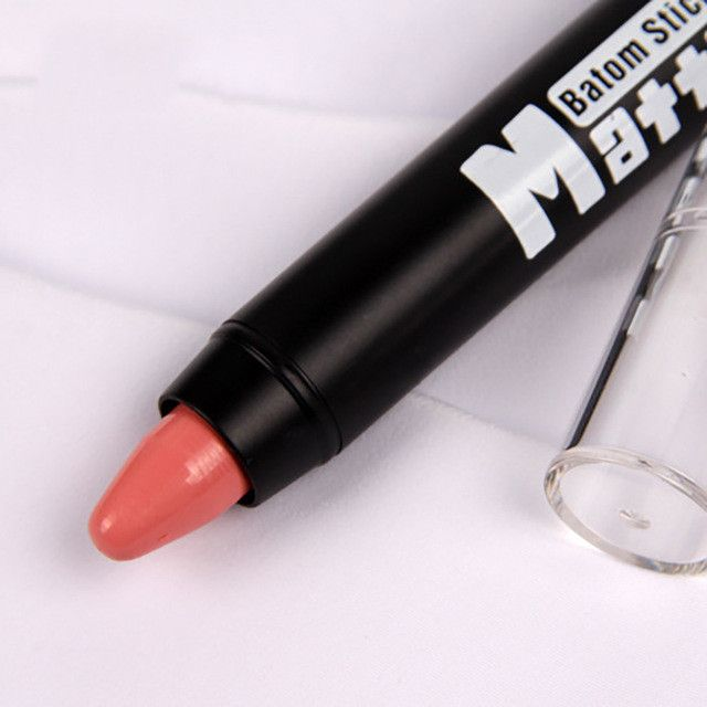 MISS ROSE Professional Waterproof Lipstick Lips Women Cream Beauty Lote Batom Matte Lipstick Nude Makeup Pencils