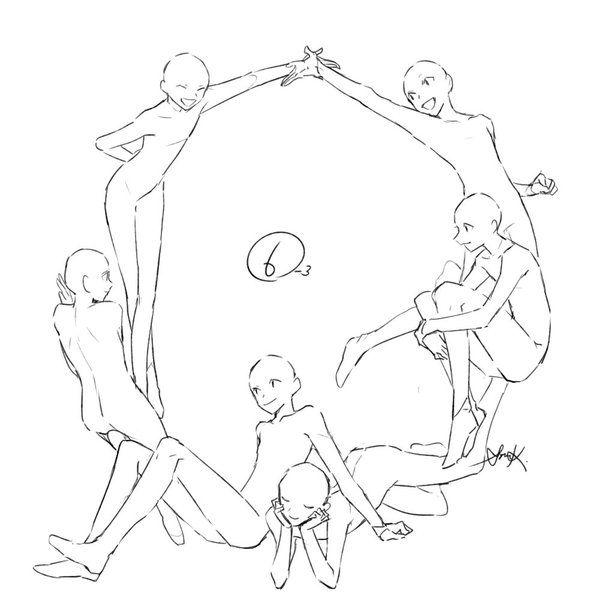 Anime base ( 6 person )