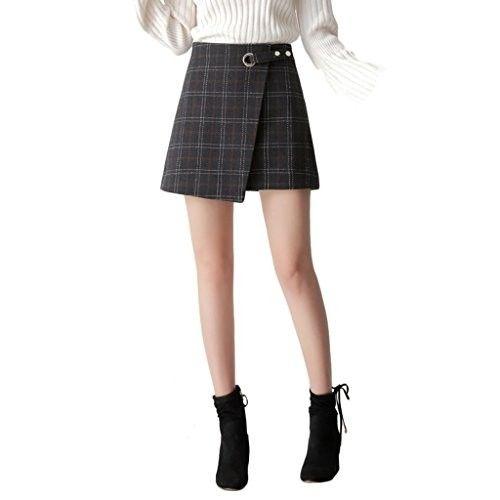 Falda escocesa #faldas #moda #mujer #outfits  #faldasescocesas #faldatablas #faldasinvierno #style #shopping #fashion #modafemenina