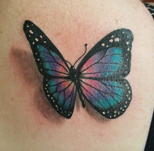 Coolest tattoo for thyroid cancer. Love the 3D look. I want this one!