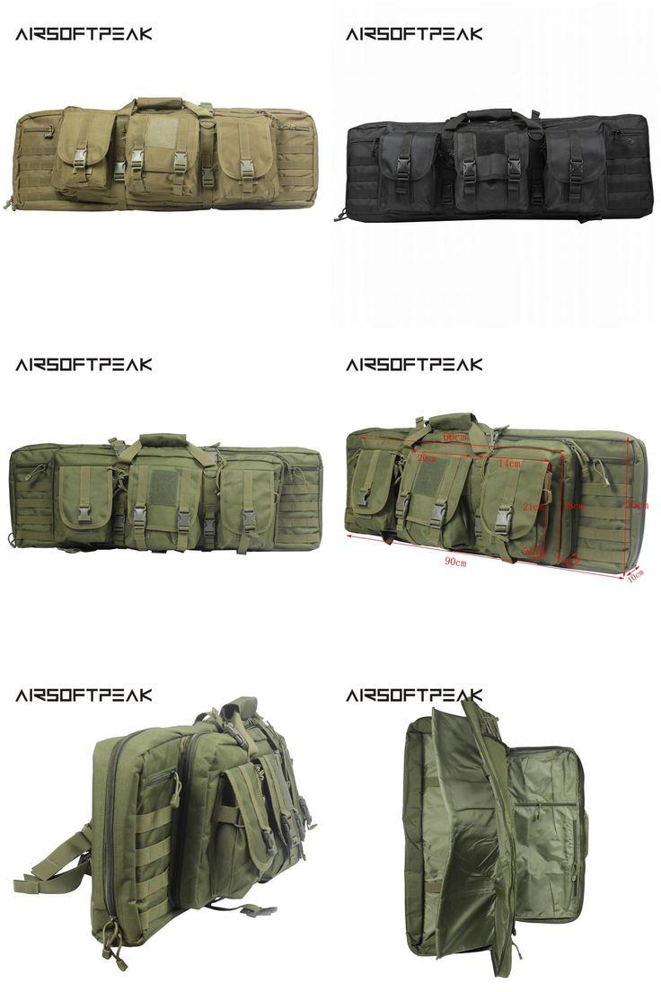 [Visit to Buy] AIRSOFTPEAK Tactical Gun Bag Military Rifle Carry Backpack For 385 Shotgun Protection Case Bag Camping Outdoor Hunting Bag  #Advertisement