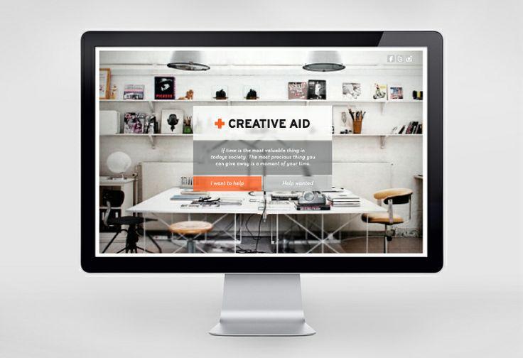 Creative Aid Web HI Creative Task