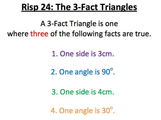 RISP 24 - 3 fact triangles