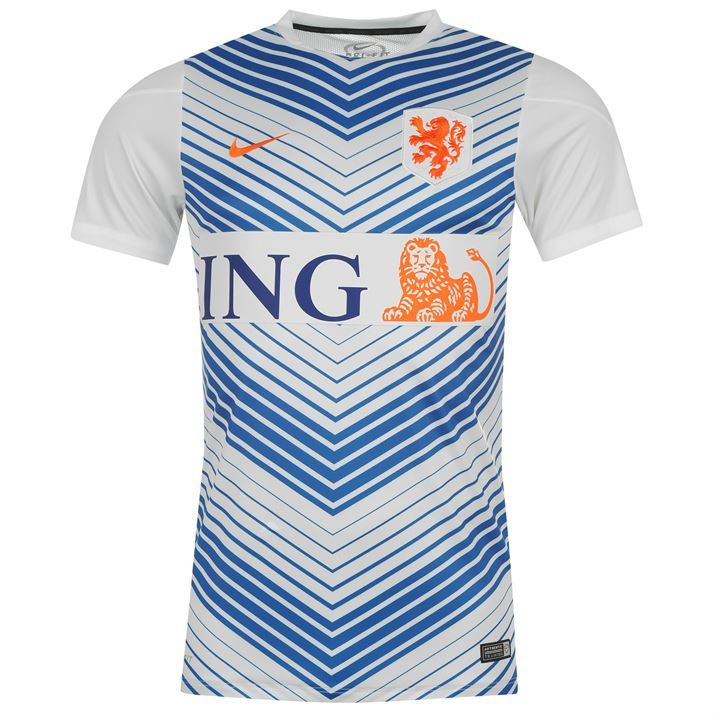 b11dfe2e87b ... World California State Cup Away Soccer Jersey holland-2014 -nike-pre-match-training-shirt-white.