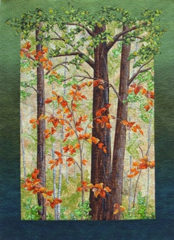 214 best landscape quilts images on Pinterest | Sewing lessons ... : landscape quilting fabric - Adamdwight.com