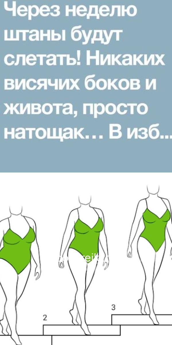 Схема для быстрого похудения
