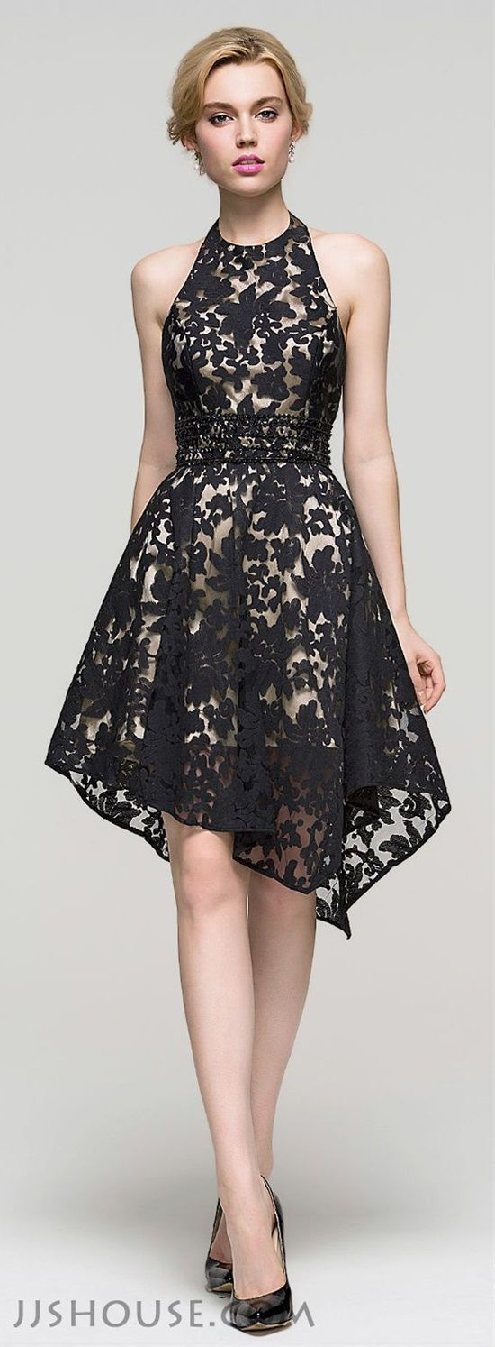 Lace always makes clothes more elegant, especially dresses. Lace gives a dress that elegant classic look and makes it more interesting. Just like any other type of dresses, lace dresses have many different designs. Here are some of the best lace dress designs to inspire you choose your next lace dress.
