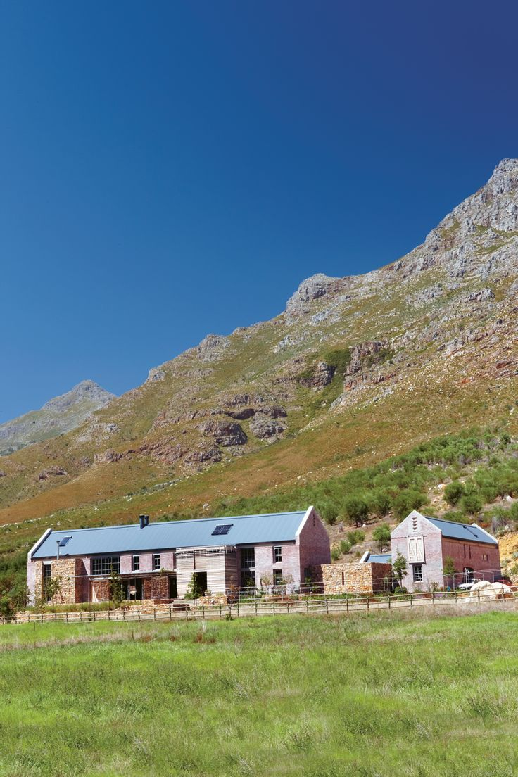 Architect Chris Wood of Studio C boldly reinterprets the Cape vernacular…