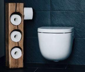 5 Ideen Zur Toilettenpapier Aufbewahrung Bauen Und Wohnen In Der Schweiz Toilettenpapier Aufbewahrung Toilettenpapierhalterung Toilettenpapier