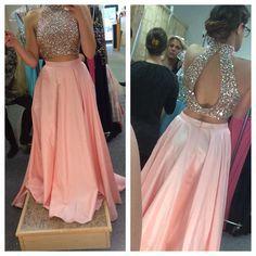 Sherri Hill 2 piece prom dress
