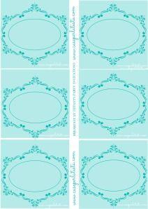 Tiffany's party invitations free printable!