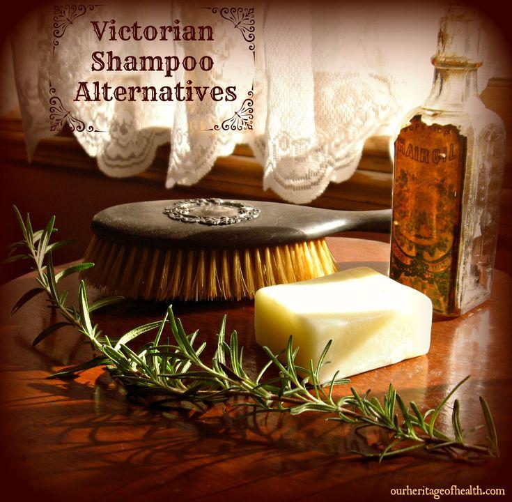 Victorian Shampoo Alternatives