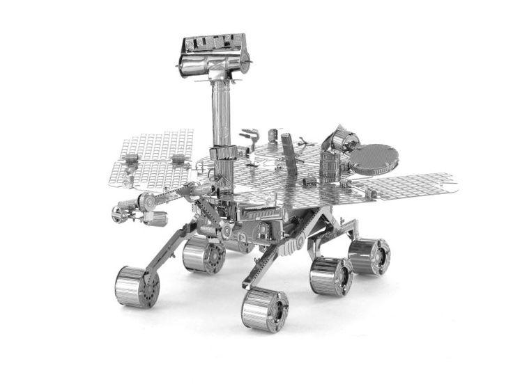 DIY 3D Metal Puzzles for children Model kids Toys Star Wars For Children/Adult Cartoon Robot  Model Mars rover educational toys
