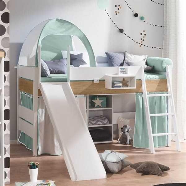 Paidi Spielbett Mit Rutsche Kira In 2020 Shared Girls Bedroom