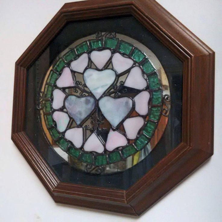 Mandala in glass by InspiredGlassyGifts on Etsy