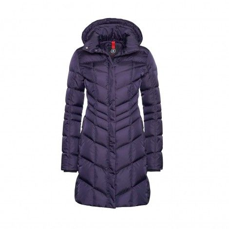 Bogner Fire + Ice Dalia winterjas dames purple mét bontrand
