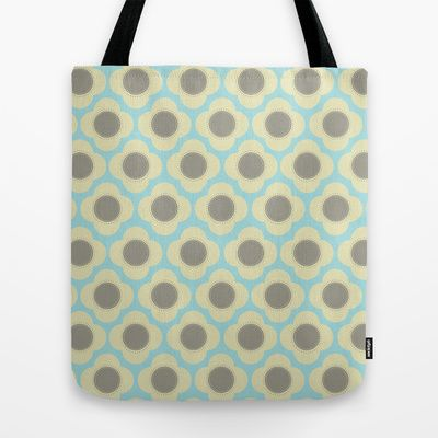 Orla Floral Tote Bag by designed to a T - $22.00