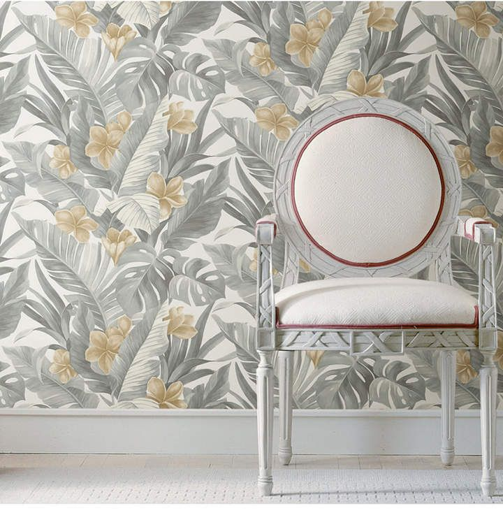 Brewster Home Fashions Neutral Paradise Peel And Stick Wallpaper Peel And Stick Wallpaper Wallpaper Roll Wallpaper Samples