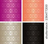 Wallpapers - set of four colors. Raster version. - stock photo